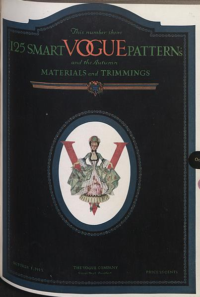 Issue: - October 1 1912 | Vogue