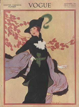 Cover for the November 1 1912 issue