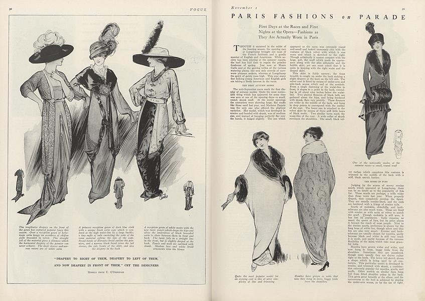 Paris Fashions on Parade