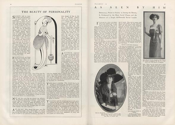 Article Preview: As Seen by Him, November 15 1912 | Vogue