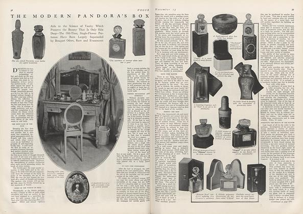 Article Preview: The Modern Pandora's Box, November 15 1912 | Vogue