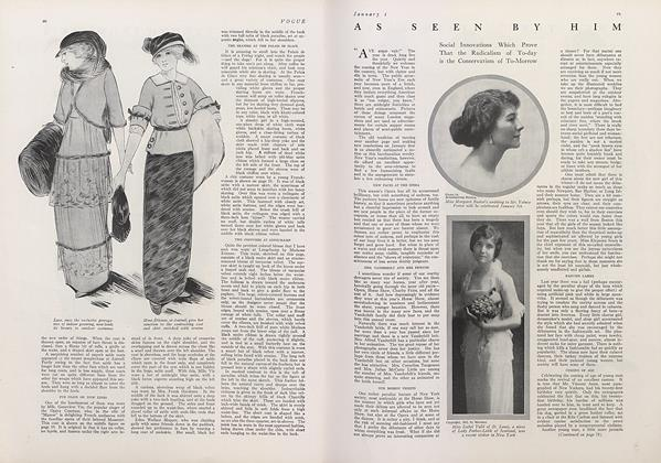 Article Preview: As Seen by Him, January 1 1913 | Vogue