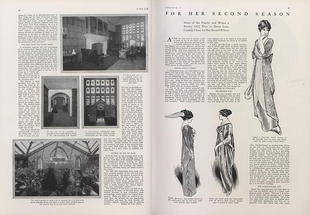 Article Preview: For Her Second Season, January 1 1913 | Vogue