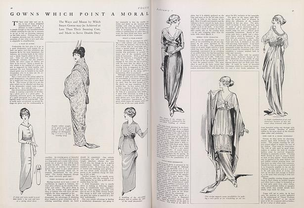 Gowns Which Point a Moral