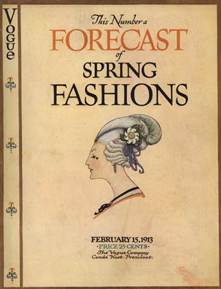 Cover for the February 15 1913 issue