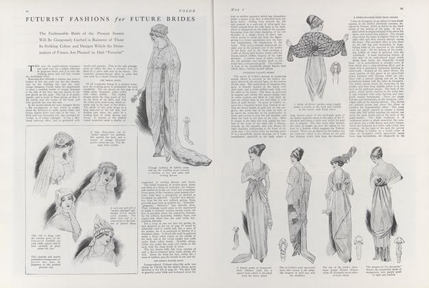 Futurist Fashions for Future Brides