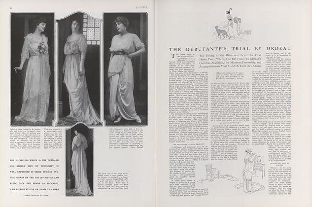 The Debutante's Trial by Ordeal