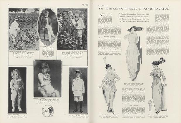 The Whirling Wheel of Paris Fashion