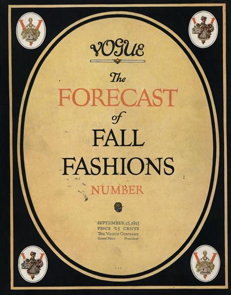 Issue: - September 15 1913 | Vogue
