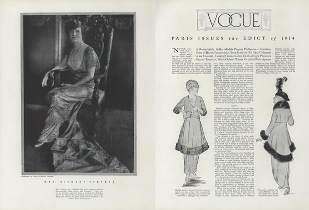 Paris Issues the Edict of 1914
