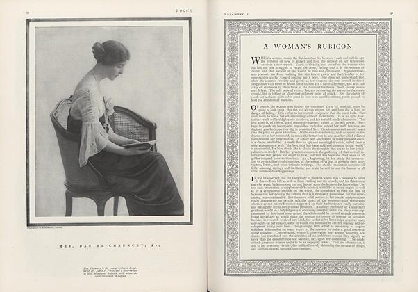 A Woman's Rubicon