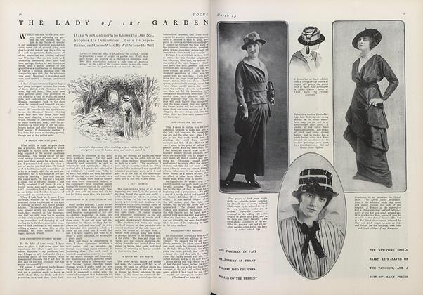 Article Preview: The Lady of the Garden, March 15 1914 | Vogue