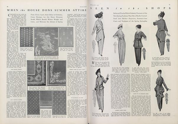 Article Preview: Seen in the Shops, March 15 1914 | Vogue