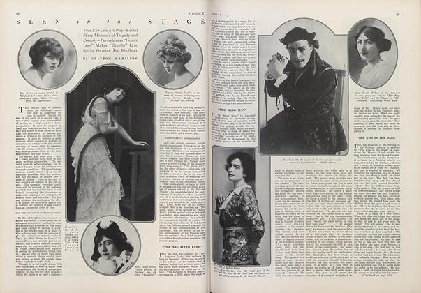 Article Preview: Seen on the Stage, March 15 1914 | Vogue