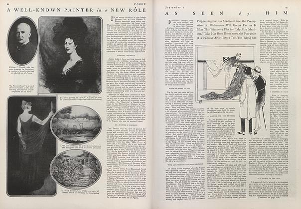 Article Preview: As Seen by Him, September 1 1914 | Vogue