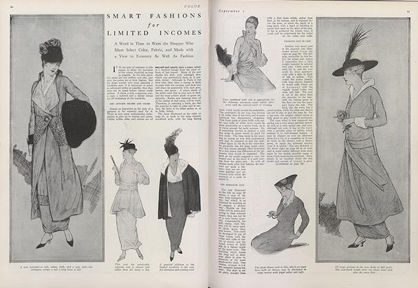 Article Preview: Smart Fashions for Limited Incomes, September 1 1914 | Vogue