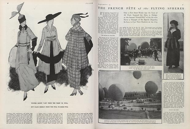 The French Fete of the Flying Spheres