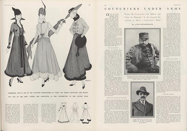 Couturiers Under Arms