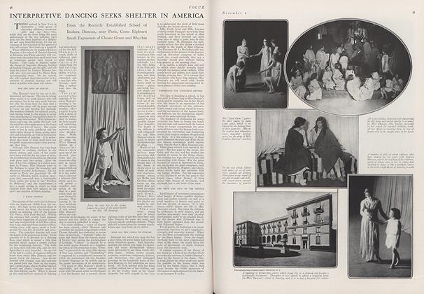Interpretive Dancing Seeks Shelter in America