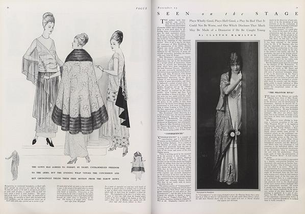 Article Preview: Seen on the Stage, November 15 1914 | Vogue