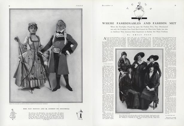 Article Preview: Where Fashionables and Fashion Met, December 1 1914 | Vogue
