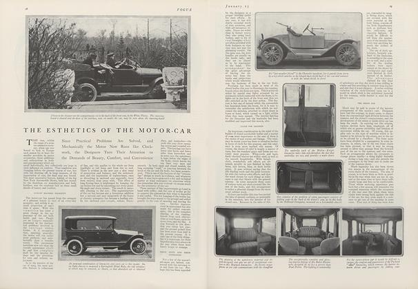 The Esthetics of the Motor-Car