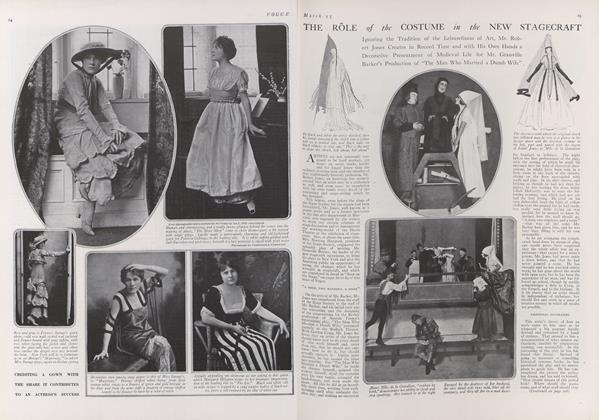 The Role of the Costume in the New Stagecraft