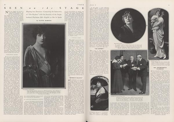 Article Preview: Seen on the Stage, June 1 1915 | Vogue