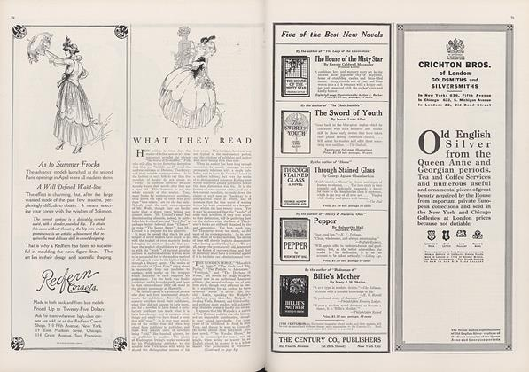 Article Preview: What They Read, June 1 1915 | Vogue