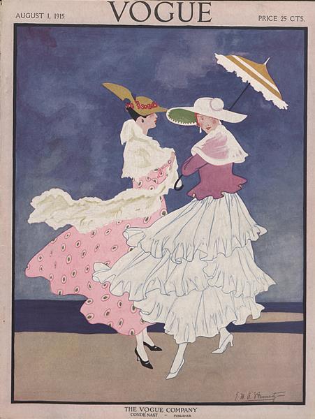 Issue: - August 1 1915   Vogue