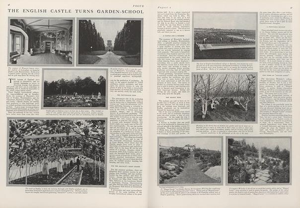 The English Castle Turns Garden-School