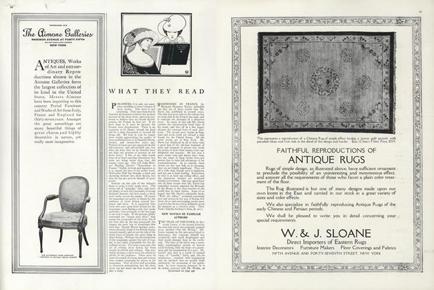 Article Preview: What They Read, November 1 1915 | Vogue