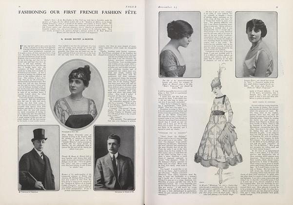 Fashioning Our First French Fashion Fete