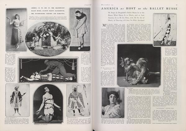 Article Preview: America as Host to the Ballet Russe, December 15 1915 | Vogue