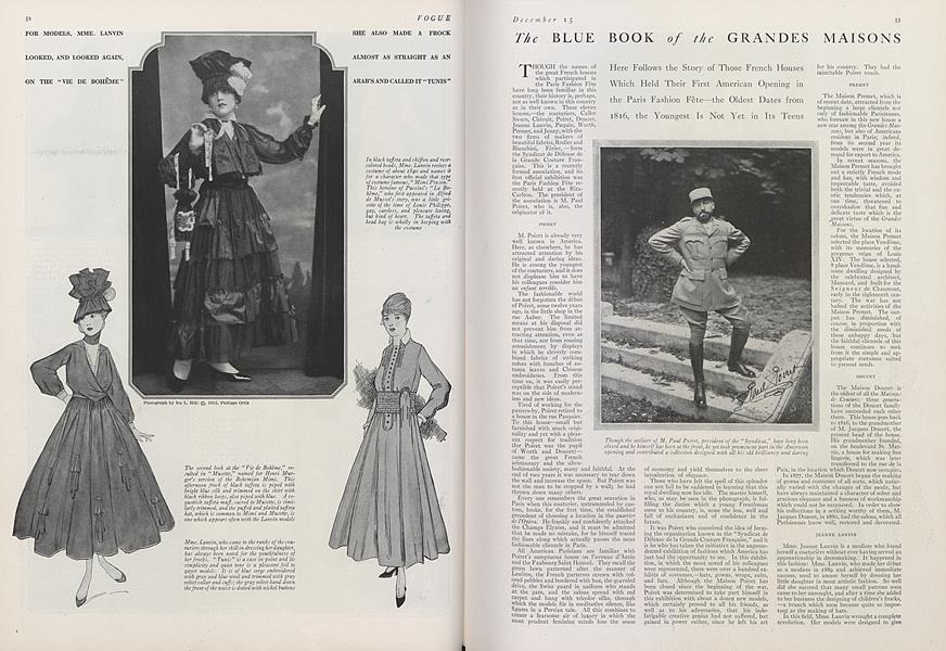 The Blue Book of the Grandes Maisons