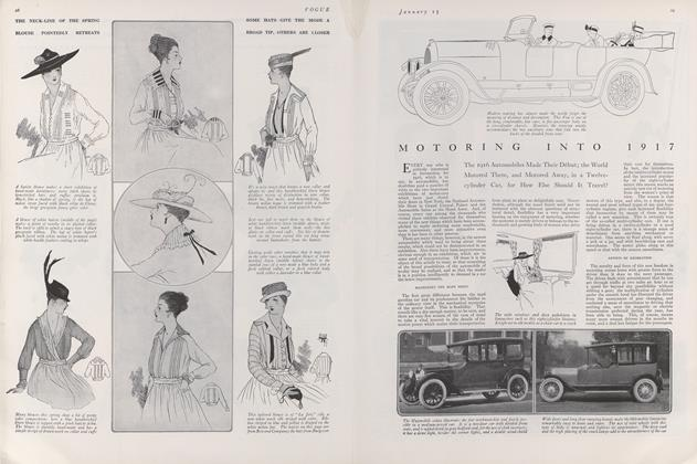 Article Preview: Motoring into 1917, January 15 1916 | Vogue