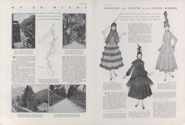 Article Preview: On to Miami, January 15 1916 | Vogue