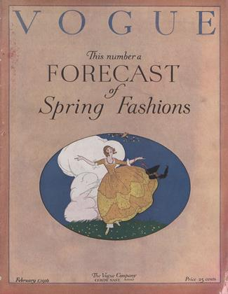 Cover for the February 1 1916 issue