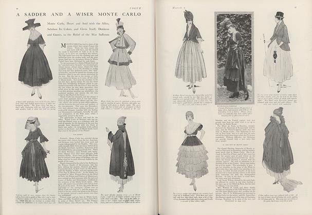 Article Preview: A Sadder a Wiser Monte Carlo, March 1 1916 | Vogue