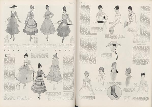 Article Preview: Seen in the Shops, April 1 1916 | Vogue