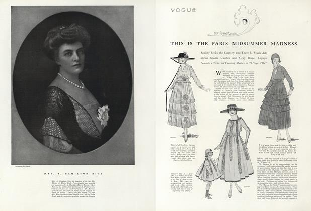 Article Preview: This is the Paris Midsummer Madness, July 1 1916 | Vogue