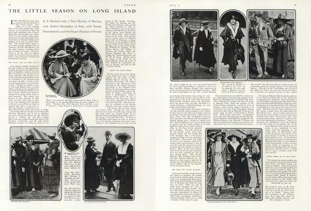Article Preview: The Little Season on Long Island, July 1 1916 | Vogue