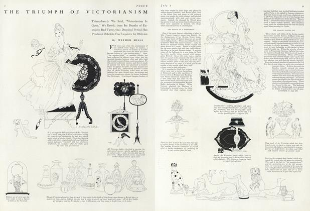 Article Preview: The Triumph of Victorianism, July 1 1916 | Vogue