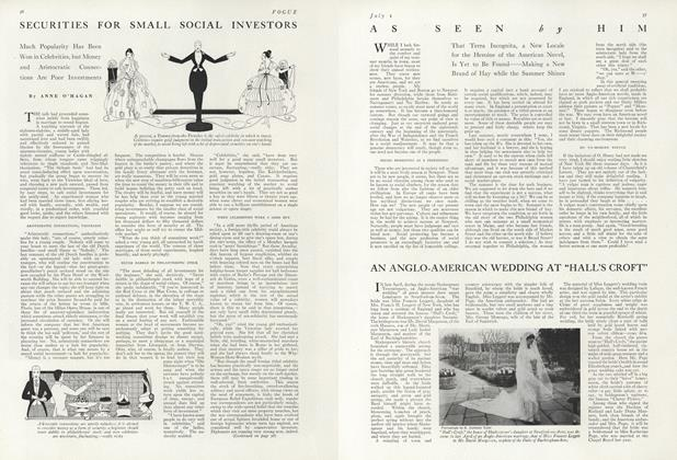 Article Preview: Securities for Small Social Investors, July 1 1916 | Vogue