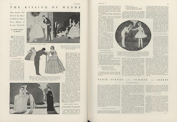 Article Preview: The Kissing of Hands, August 1 1916 | Vogue