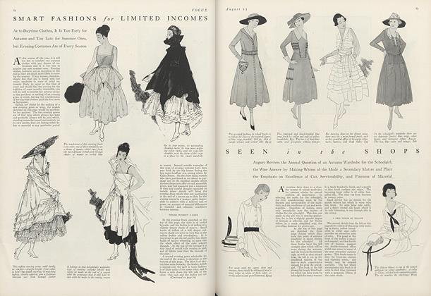 Seen in the Shops: August Revives the Annual Question of an Autumn Wardrobe for the Schoolgirl