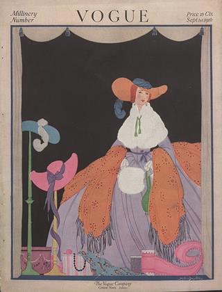 Cover for the September 1 1916 issue