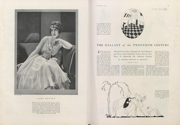 The Gallant of the Twentieth Century