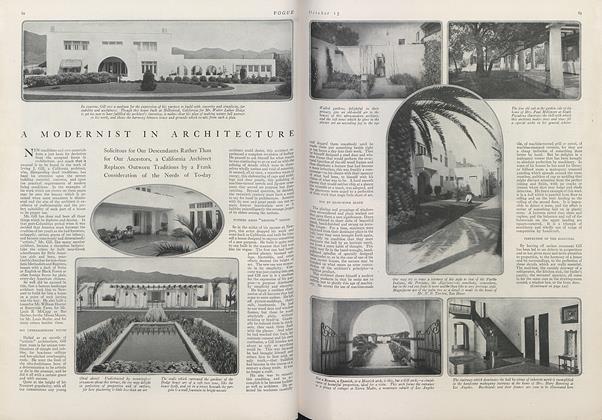 A Modernist in Architecture