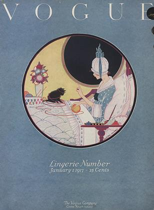 Cover for the January 1 1917 issue
